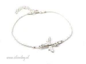 Sterling Zilveren Armband- Bij